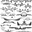 Royalty-Free Stock Vector Image: Set of beautiful design elements for different use.
