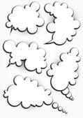 抽象的なバブルの話abstrakt talar bubbla — Stockvektor
