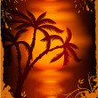 Royalty-Free Stock Vector Image: Tropical background. Vector