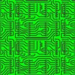 Abstract hi-tech background - seamless — Stock Vector #8865720