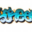 Royalty-Free Stock Vector Image: Graffiti urban art