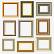 Stock Vector: Picture frames