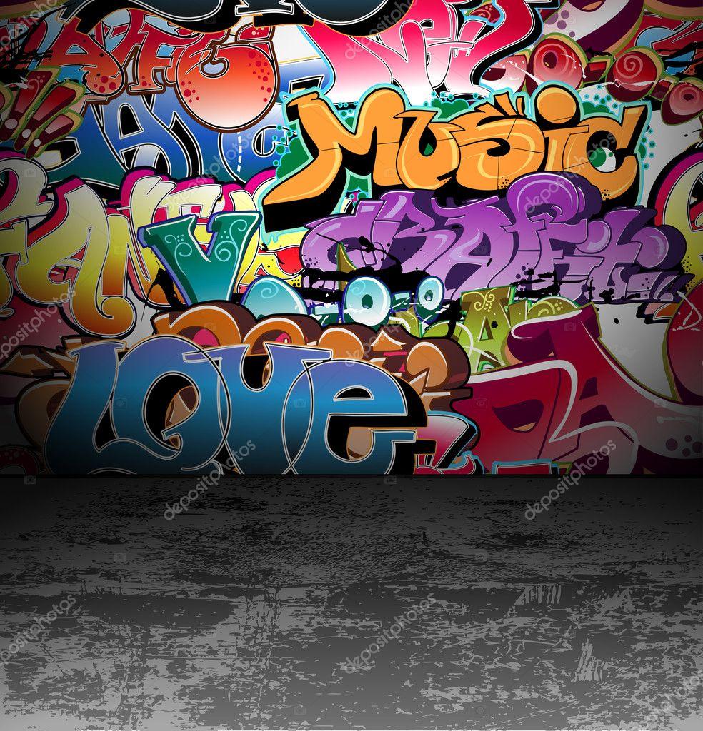 Urban Street Drawings Graffiti Wall Urban Street Art