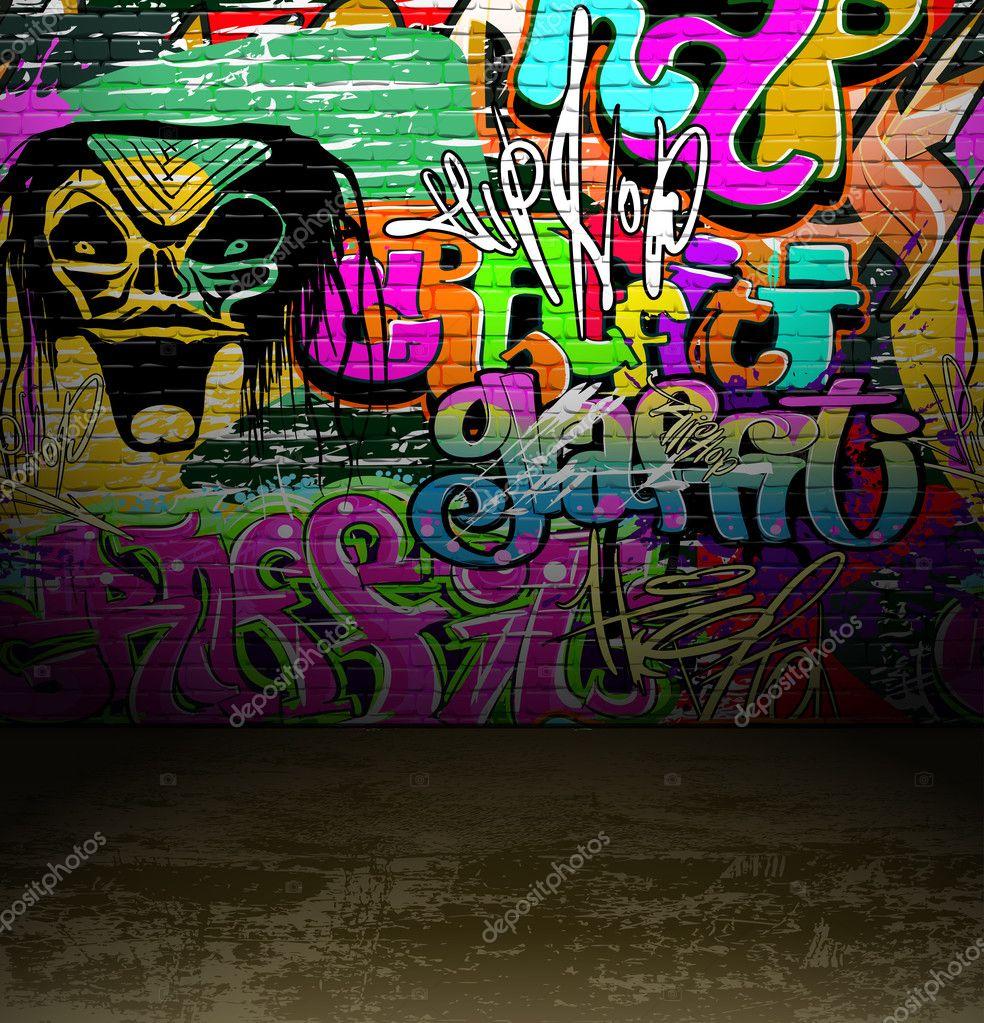 Grafitti wall painting - Filename Depositphotos_9319677 Graffiti Wall Urban Street Art Painting Jpg