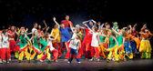 "Vitebsk, bielorrússia - 1 de julho: desempenho de dança grupo ""belka"" — Fotografia Stock"