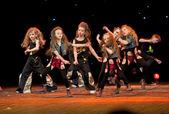 "Unidentified children from dancing group ""Belka"" — Stock Photo"