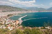 East coast beach resort of Turkey Alanya — Stock Photo