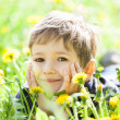 Child smiling — Stock Photo #10725372