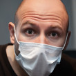 Man in medicine mask — Stock Photo #9667469