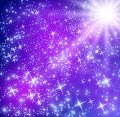 Glowing stars — Stock Photo