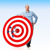 My target — Stock Photo