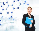 化学学生 — ストック写真