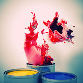 Explosion of colour — Stock Photo