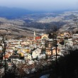 Stock Photo: Spormaggiore town in winter
