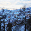 Spormaggiore town in winter — Stock Photo