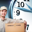 Delivery on time - Stock Photo