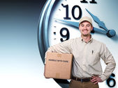 Delivery on time — Stock Photo