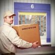 Deliveryman — Stock Photo #9029865