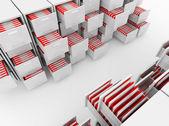 File cabinet folder — Stock Photo