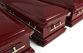 3d coffin — Stock Photo