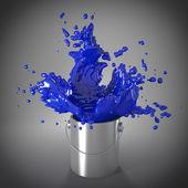 Explosão de cor — Foto Stock