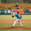 Professional Baseball Game in Taiwan — Stock Photo #10015488