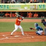 Professional Baseball Game in Taiwan — Stock Photo #10100448