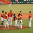 Professional Baseball Game in Taiwan — Stock Photo #10100588