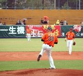 Professional Baseball Game in Taiwan — Stock Photo