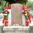 Chinese Ancestral Altar — Stock Photo