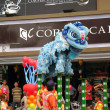 Chinese Lion Dance in southern Taiwan — Stock Photo #7978687