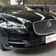 Постер, плакат: New Jaguar Luxury Sedan XJ