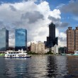 Kaohsiung City from the Water — Stock Photo