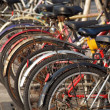 Stock Photo: Used Bicycles