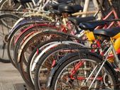 Used Bicycles — Stock Photo