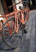 Vintage Farmer Bicycle — Stock Photo