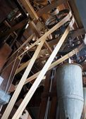Vintage Rice Hulling Machine — Stock Photo