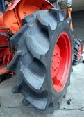 Large Tractor Tire — Stock Photo