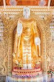 Statue in buddhist temple — Stock Photo