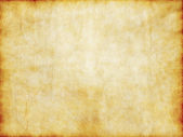 Old yellow brown vintage parchment paper texture — Stock Photo