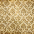 Vintage damask wallpaper — Stock Photo