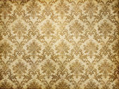 Vintage damask wallpaper — ストック写真