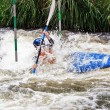 white water kayaking — Stock Photo #9212352