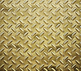 Gold diamond plate — Stock Photo
