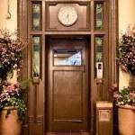 Old elevator door — Stock Photo