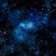 Gas cloud in deep outer space — Stock Photo
