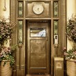 Old elevator door — Stock Photo #9360407