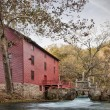 Stock Photo: Alley spring mill house