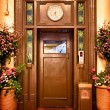 Old elevator door — Stock Photo