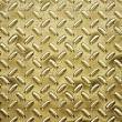 Stock Photo: Gold tread or diamond plate